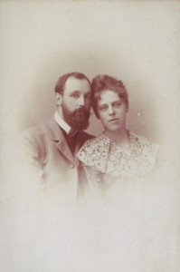 Henri & Milly's marriage photo 1900