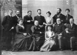 Hucklenbroich Family circa 1901