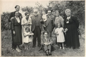 Edouard Hucklenbrouch and his family -1935
