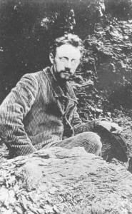 Henri Matisse on Belle-Île - taken by Wery 1896